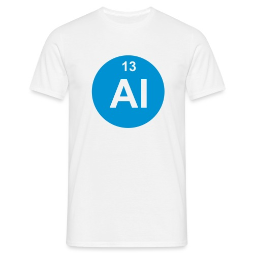 Aluminium (Al) (element 13) - Men's T-Shirt