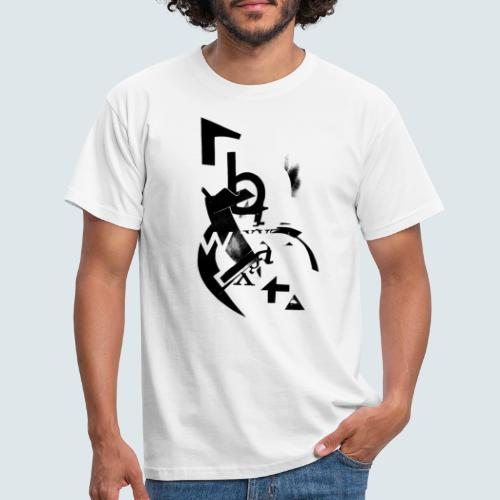Typography - Männer T-Shirt