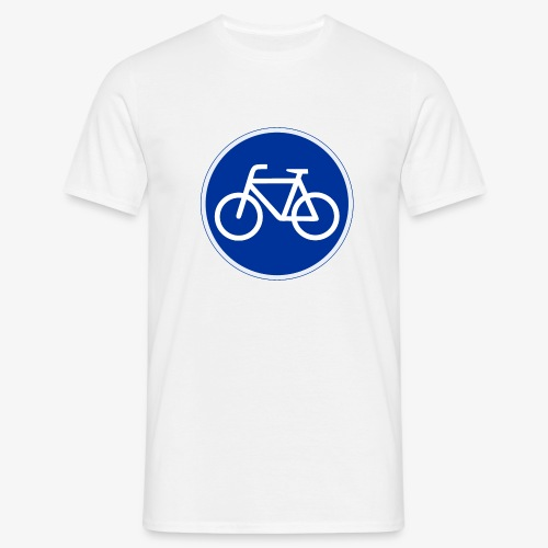 Critical Mass • Tshirt / fahrrad vorn / auto hin - Männer T-Shirt