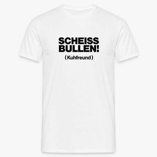 Kuhfreund - Männer T-Shirt
