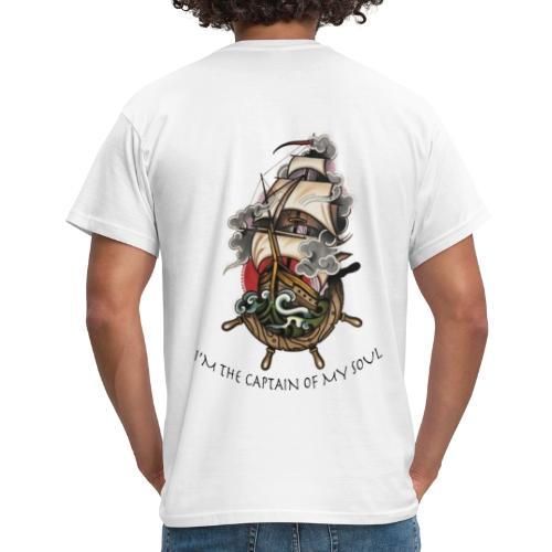 MAGLIETTA CON VELIERO - Maglietta da uomo