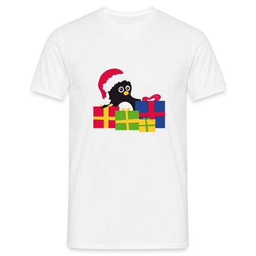 Pingouin de Noël - T-shirt Homme