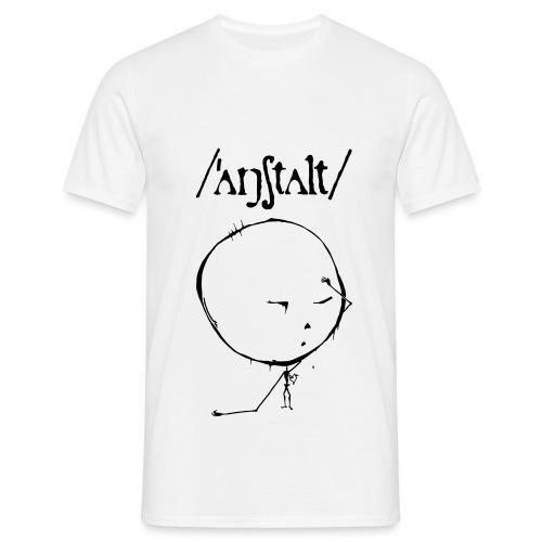 logo mit kreisling - Männer T-Shirt
