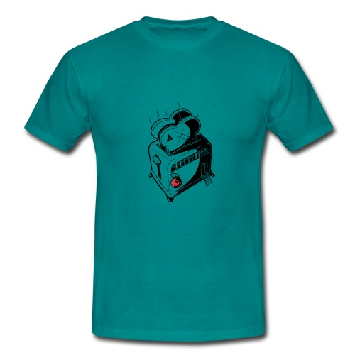 Broodrooster huis - T-shirt Homme