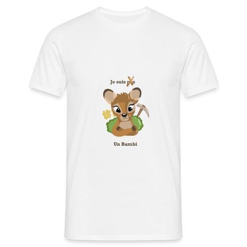 Je suis un bambi - T-shirt Homme