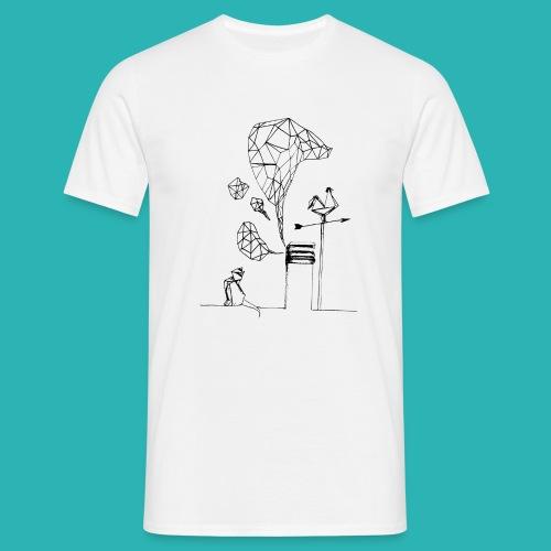 Carta_gatta-png - Maglietta da uomo