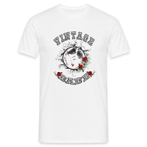 Vintagebabe - Männer T-Shirt