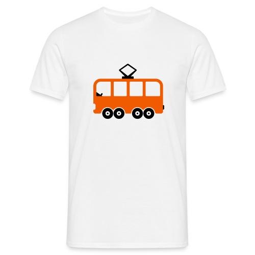 Bahn Comic - Männer T-Shirt