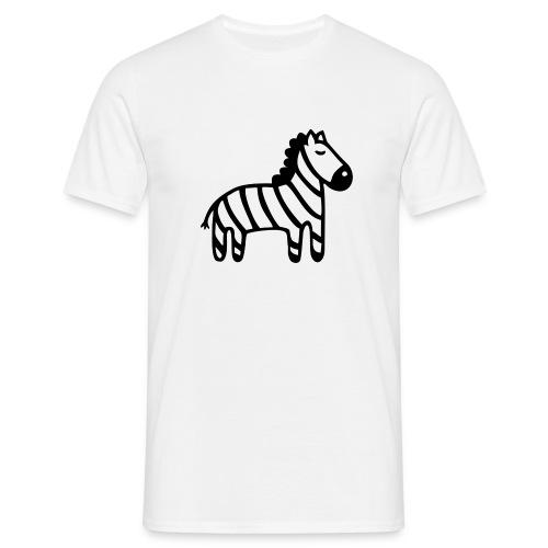 Kinder Comic - Zebra - Männer T-Shirt