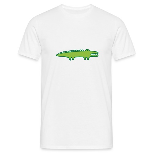 Kinder Comic - Krokodil - Männer T-Shirt