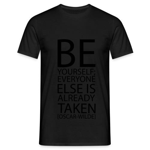 be_yourself.png - Maglietta da uomo