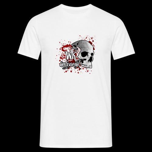 WK Antisocial Logo Blut png - Männer T-Shirt