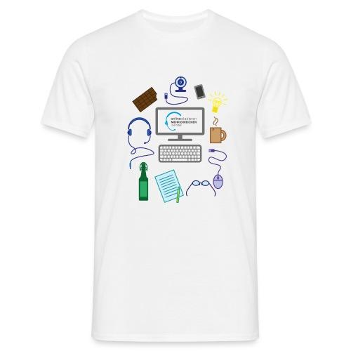 survivalKit-farbe - Männer T-Shirt