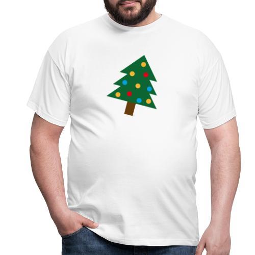 Weihnachtsbaum für hässliche Weihnachten - Männer T-Shirt