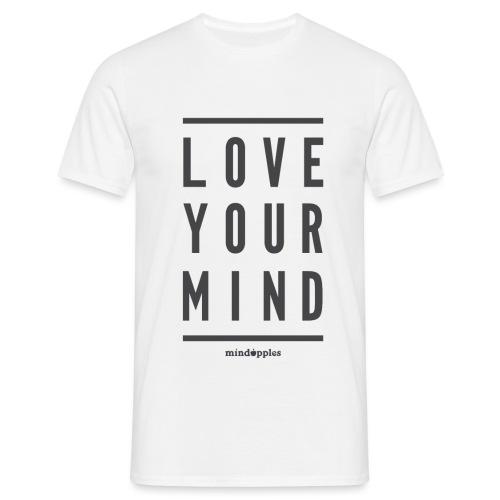 Mindapples Love your mind merchandise - Men's T-Shirt