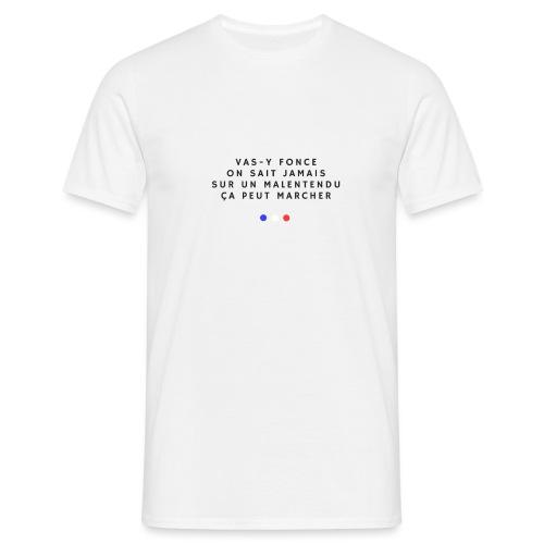Sur un malentendu - T-shirt Homme