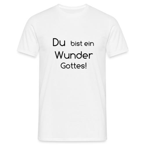 Wunder png - Männer T-Shirt
