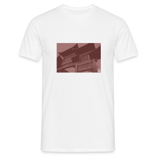 Scouse Chinatown / Blood - Men's T-Shirt