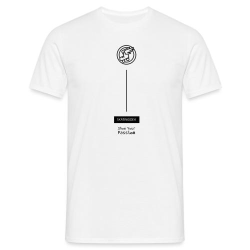 Skatingidea basic - Maglietta da uomo