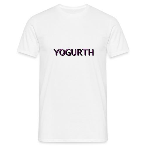 YOGURTH black 3D - Maglietta da uomo