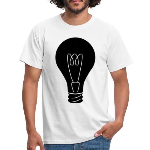 Glühbirne - Männer T-Shirt