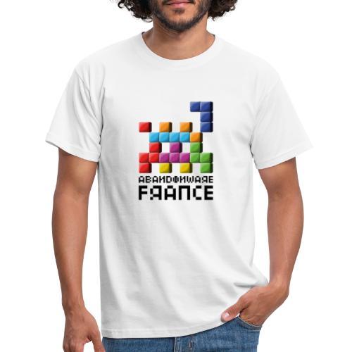 Logo Style Tétris - T-shirt Homme