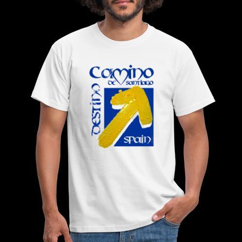Camino de Santiago Spain, Destino, Jakobsweg - Männer T-Shirt