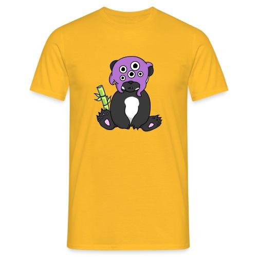 panda procrastinateur png - T-shirt Homme