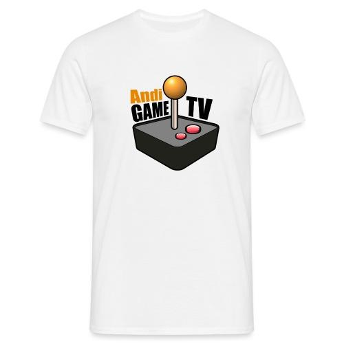 Andi GAME TV (Black) - Männer T-Shirt