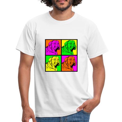 Bouledogue Anglais Couleur - T-shirt Homme