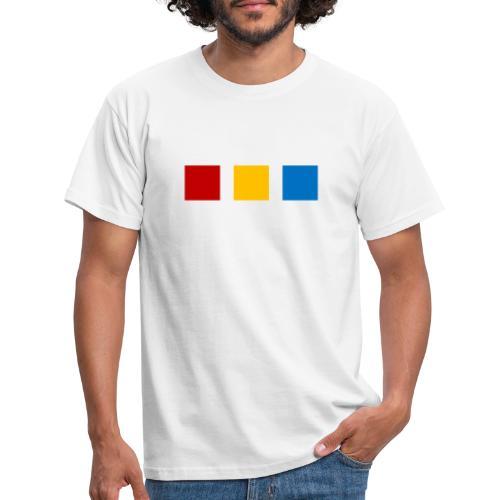 Modernes te.comp Logo - Männer T-Shirt