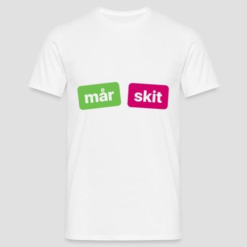 mår skitdyr (köp ej snälla) - T-shirt herr