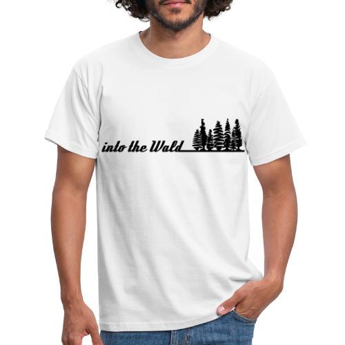 into the wald - Männer T-Shirt