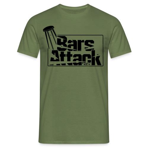 BarsAttack Black Logo - Männer T-Shirt
