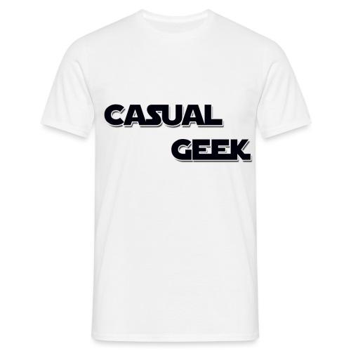 CasualGeek Standard Logo - Men's T-Shirt