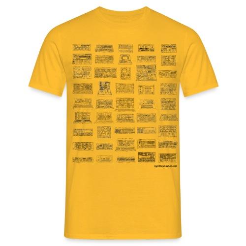 Synth Evolution T-shirt - White - Men's T-Shirt