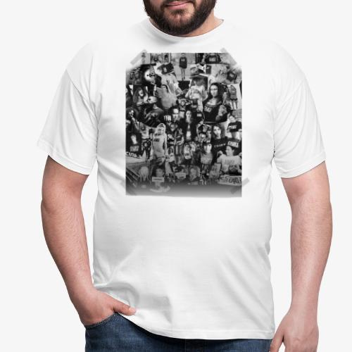 Ciuryburie Collagé - Männer T-Shirt