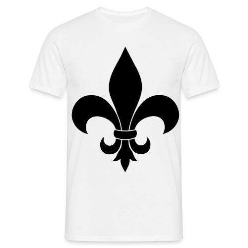 ranskan lilja - Miesten t-paita