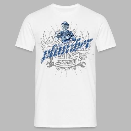 ProudPlumberPatch 2020 / Logo-Druck - Männer T-Shirt