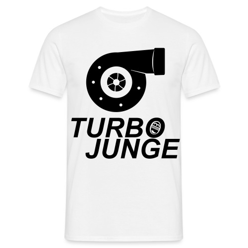 Turbojunge! - Männer T-Shirt
