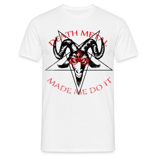skullsolbriller3 - Herre-T-shirt