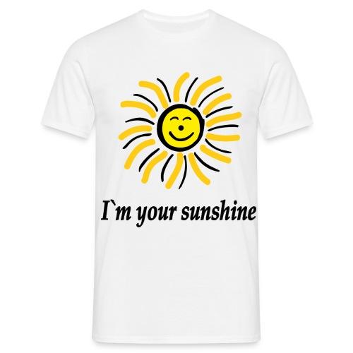 2i m youre sunshine Gelb Top - Männer T-Shirt
