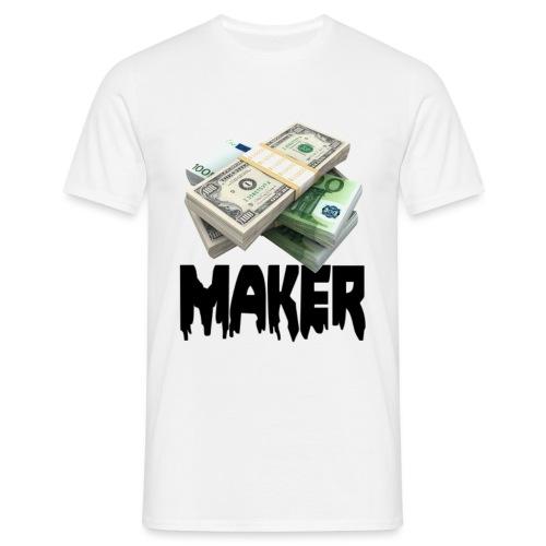 MONEYMAKERBLACK - Mannen T-shirt