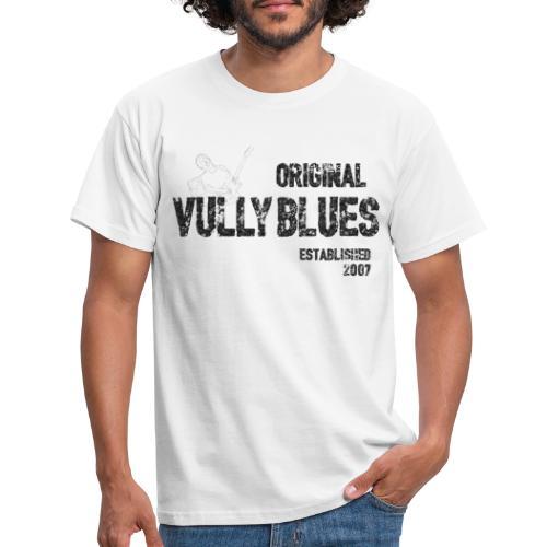 Original Vully Blues Black Logo - Männer T-Shirt