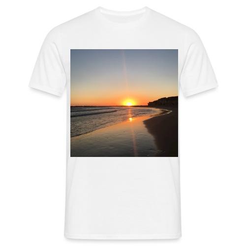 coucher de soleil - T-shirt Homme