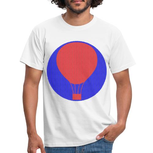 Heissluftballon - Männer T-Shirt