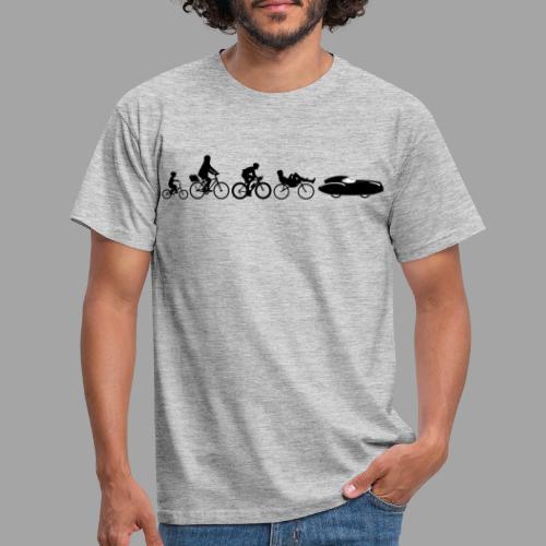 Bicycle evolution black Quattrovelo - Miesten t-paita