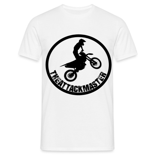 TheAttackMaster Official Black - Herre-T-shirt