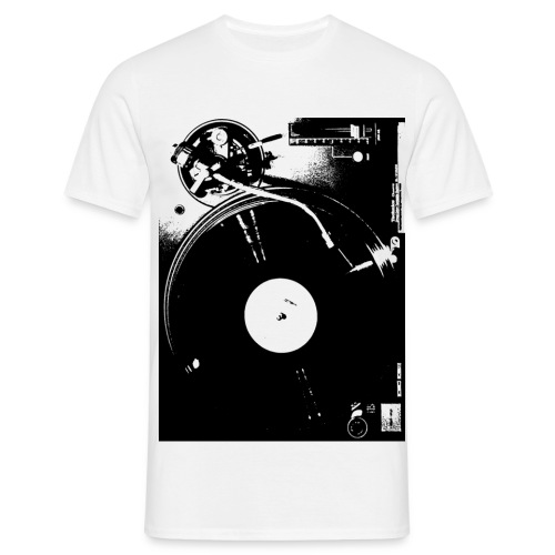 BLACKEGO Turntable 17 - Männer T-Shirt