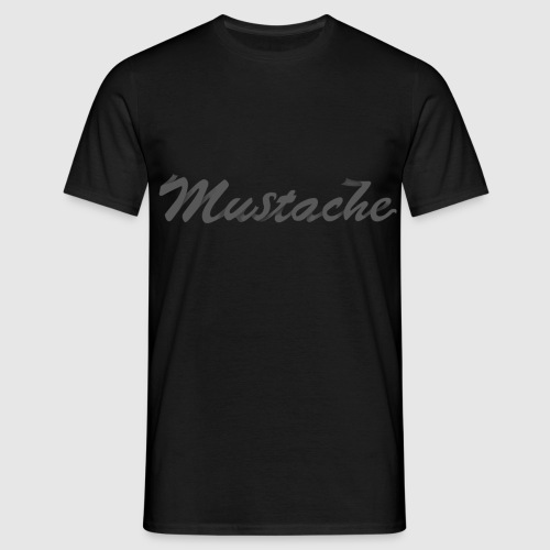 Black Lettering - Men's T-Shirt